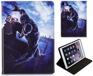 iPad Pro 10.5 / 10.2 / Air 3 Spider Man Venom Marvel Hulk Iron Man Case Cover +