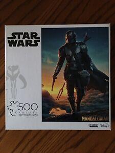 Star Wars The Mandalorian 500 Piece Jigsaw Puzzle Brand New Sealed