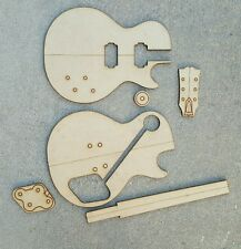 Les Paul Guitar Template Set