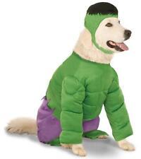 Incredible Hulk Marvel Superhero Big Fancy Dress Halloween Pet Dog Cat Costume