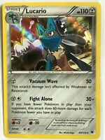 Lucario 63/124 HOLO Rare Pokemon XY Fates Collide Set TCG Card NM
