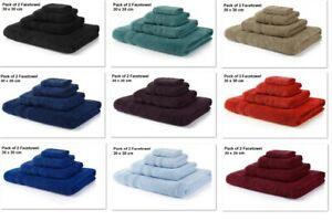 Hotel Face Cloths Egyptian Cotton Luxury Soft Flannels Face Towels Wash Cloths