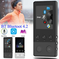 40 Hours Bluetooth4.2 Mp3 Music Player with Fm Lossless Sound Support up to 64Gb