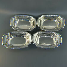 Set of 4 Gorham Sterling Nut Dishes Baskets 2080A