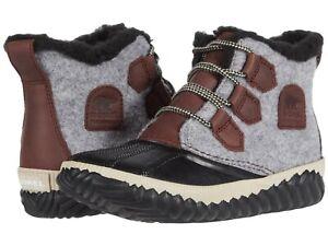 Sorel Women's Out 'N About Plus Waterproof Duck Boots - Redwood