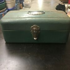 Vintage Union Utility Chest Tackle Box Green Made in Troy New York