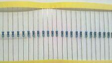 20 x 470 ohm Resistors 1/4 Watt .25w Metal Film 1% tolerance Great for Leds USA