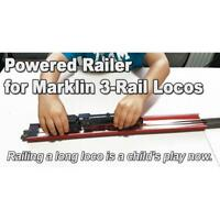 HO - Proses RLR-03 -  Powered Railer for Marklin 3 Rail Locos - New Product