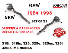 Steering Left & Right Tie Rod End SET For BMW E30 318i 318is 325i 325is 325e M3