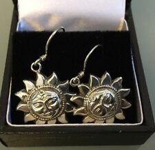 Silver Women's Sunshine Style Earrings