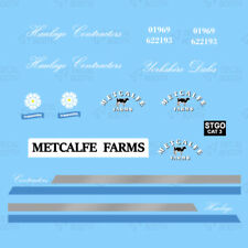 METCALFE FARMS (cLASSIC) HEAVY HAULAGE CLASSIC DECAL SET 1:50 SCALE
