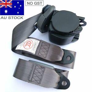 For Toyota 3-Point Universal Safety Seat Belt Seatbelt Strap Retractor Dark Grey