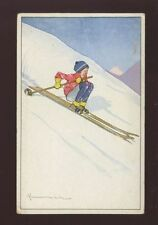 Swiss Single Printed Collectable Sport Postcards