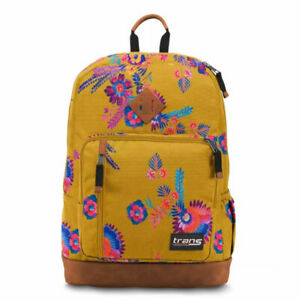 "Trans by JanSport 18"" Dakoda Backpack - Golden Harvest"