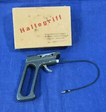 Vintage Pistol handle for photo camera with Sutter release cable HALFEGRIFF