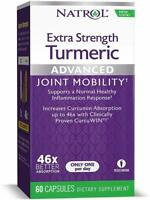 Extra Strength Turmeric Advanced Joint Mobility by Natrol, 60 capsule 1 pack