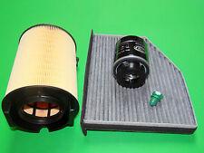 Ölfilter Luftfilter Aktivkohle-Pollenfilter Seat Altea 1.4 TSI (92kW/125PS)