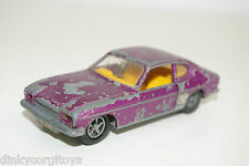 DINKY TOYS 165 FORD CAPRI METALLIC PURPLE EXCELLENT CONDITION