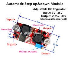 Automatic Mini Step up down Module 3.3v 5v 12v 24v DC Voltage Regulator F solar