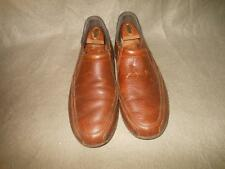 ROCKPORT BROWN SLIP ON LOAFER SHOES SIZE N/M 10 USED W/ STRETCHERS