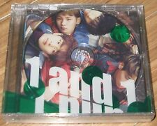 SHINee 1and1 1 and 1 5TH Album Repackage 2 CD + PHOTOCARD + POSTER IN TUBE CASE