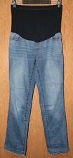 Womens Prefaded Liz Lange Maternity Boot Cut Jeans Size 6 very good