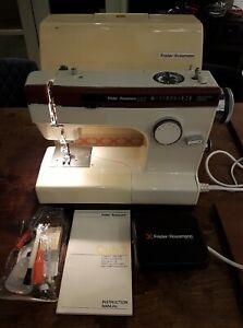 Frister + Rossman Cub 7 Multi Stitch Sewing Programme Machine Zig Zag~VG Working