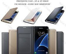 NUOVO Samsung Galaxy S8 S8 + in pelle a libretto SUPPORTO CUSTODIA COVER