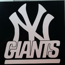 "New York Giants / Yankees decal #2 (12.5""x11"")"