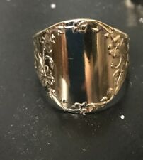 Vintage Solid Gold Signet Ring (10 available)