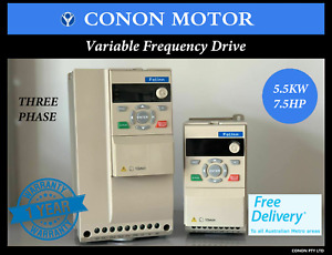 5.5kw/7.5HP 415V Three Phase Variable Frequency Drive Inverter VSD VFD