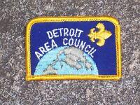 BSA Boy Scout Detroit Area Council Patch Boy Scout Patch Vintage