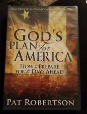 GOD'S PLAN FOR AMERICA: How to Prepare for the Day Ahead by Pat Robertson (DVD )