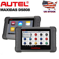 Autel MaxiDAS DS808 Diagnostic Scanner Code Reader EPB DPF ABS SRS Key Coding
