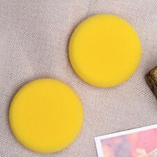 Round Yellow Sponge Artist Brushes Watercolor Sponges Painting Crafts Pottery