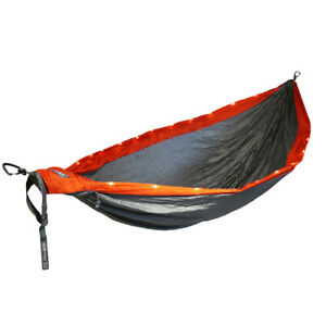Fathers Day Gift DoubleNest 2 person Light Up LED 3 Setting hammock Camp Hiking