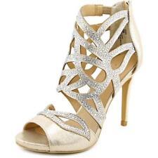 41 Scarpe da donna cinturini alla caviglia oro