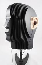 dummy head for binaural microphones