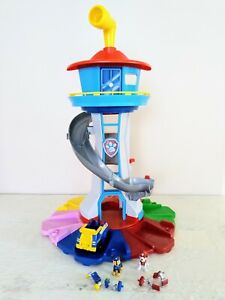 PAW PATROL My Size LOOKOUT TOWER with Lights & Sounds includes Exclusive Vehicle