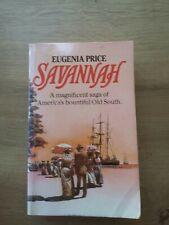 Savannah by Eugenia Price Book paperback preowned