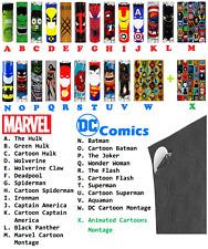 "24 pcs ""Marvel DC Comics Hero Pack"" 18650 Battery Heat Shrink Wraps +Insulators"