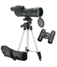 Barska Optics Colorado 20-60x60mm Spotting Scope w/ Adjustable Tripod & Case