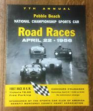Pebble Beach Road Race Poster, 1956