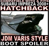 V-Style WRC Rear boot spoiler JDM 4 pc FOR Subaru Impreza 2008+ GRB Hatchback