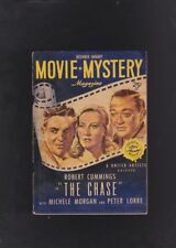 COMPLETE SET! VINTAGE CRIME DIGESTS. MOVIE MYSTERY MAGAZINE.