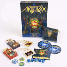 ANTHRAX For All Kings POKER EDITION BOX FACTORY SEALED 1000 copies Numbered