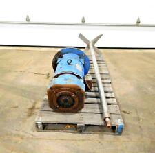 "Mo-2793, Contraves 10 Hp Mixer. 304 Ss. 3500 Rpm. 240 Arm V. 74"" Shaft."