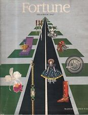 1947 Fortune December - Care Inc; Kaiser-Frazer; Koerner Art; Madison Avenue;