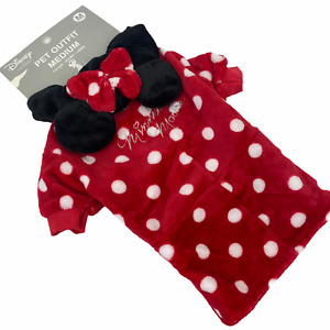NWT Disney Primark Halloween Minnie Mouse Dog Dress Outfit Pets Costume Hooded M