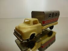 JAPAN TIN TOY TRUCK AMERICAN AIRLINES - L10.5cm RARE - GOOD - REPLICA TEKNO